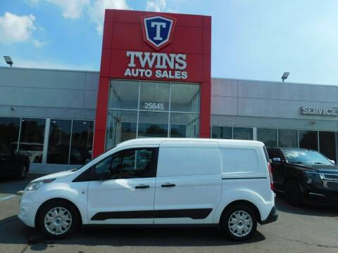 2018 Ford Transit Connect Cargo for sale at Twins Auto Sales Inc Redford 1 in Redford MI