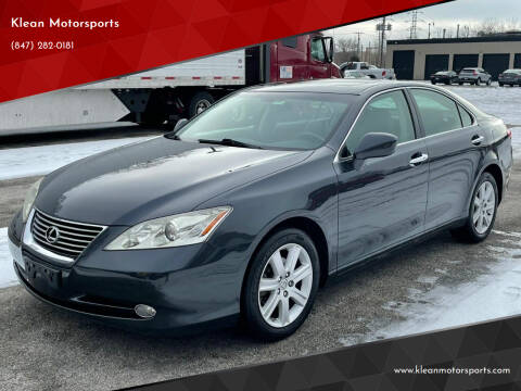 2007 Lexus ES 350 for sale at Klean Motorsports in Skokie IL