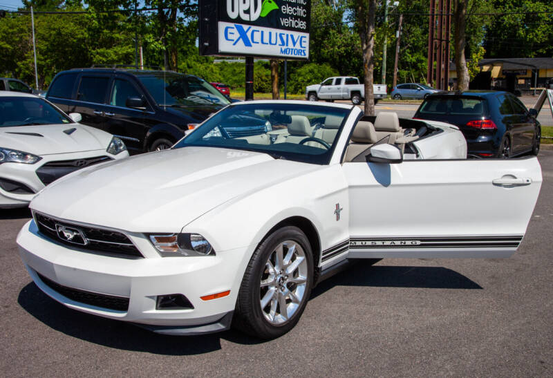 2011 Ford Mustang for sale at EXCLUSIVE MOTORS in Virginia Beach VA