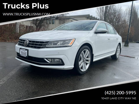 2017 Volkswagen Passat for sale at Trucks Plus in Seattle WA