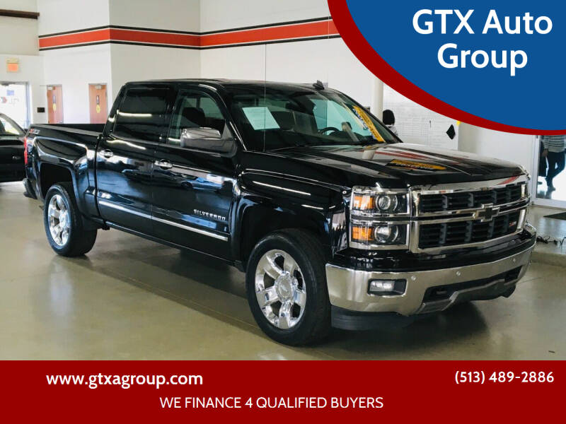 2014 Chevrolet Silverado 1500 for sale at GTX Auto Group in West Chester OH
