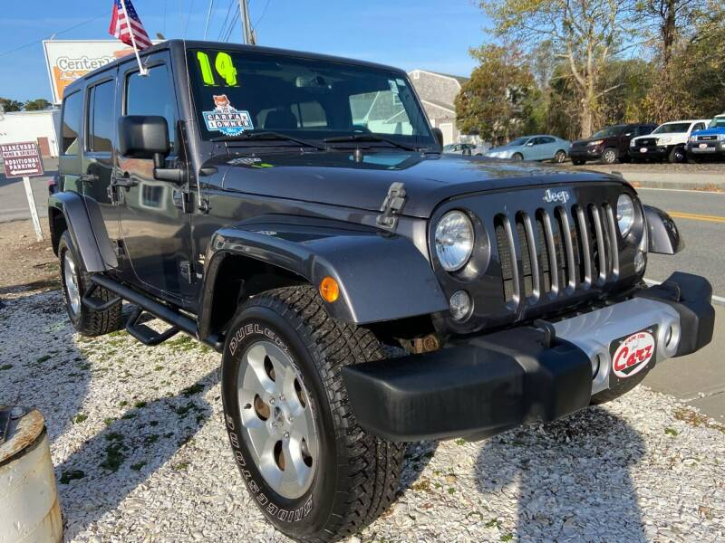 2014 Jeep Wrangler Unlimited for sale at Cape Cod Carz in Hyannis MA
