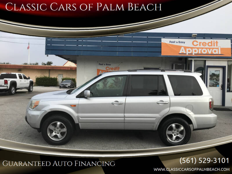 2007 Honda Pilot for sale at Classic Cars of Palm Beach in Jupiter FL