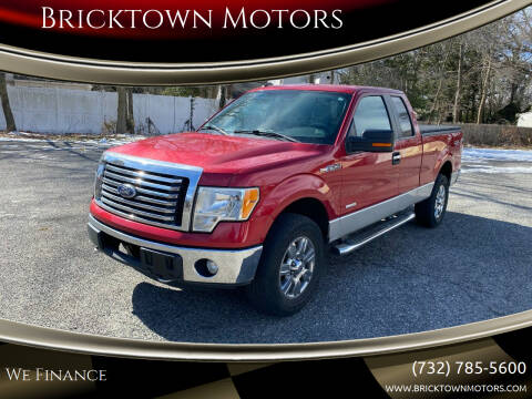 2011 Ford F-150 for sale at Bricktown Motors in Brick NJ