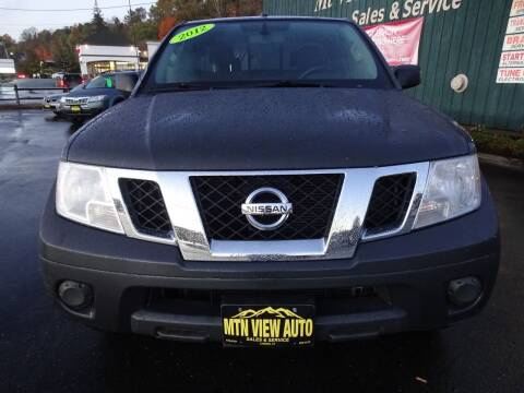 2012 Nissan Frontier for sale at MOUNTAIN VIEW AUTO in Lyndonville VT