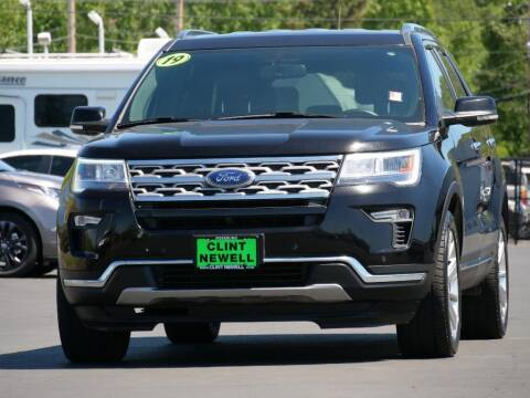 2019 Ford Explorer for sale at CLINT NEWELL USED CARS in Roseburg OR