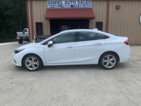 2017 Chevrolet Cruze for sale at Daniel Used Auto Sales in Dallas GA