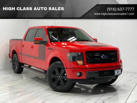 2013 Ford F-150 for sale at HIGH CLASS AUTO SALES in Rancho Cordova CA