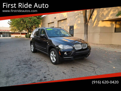 2008 BMW X5 for sale at First Ride Auto in Sacramento CA