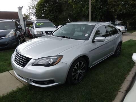2012 Chrysler 200 for sale at CPM Motors Inc in Elgin IL