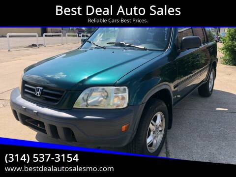 2001 Honda CR-V for sale at Best Deal Auto Sales in Saint Charles MO