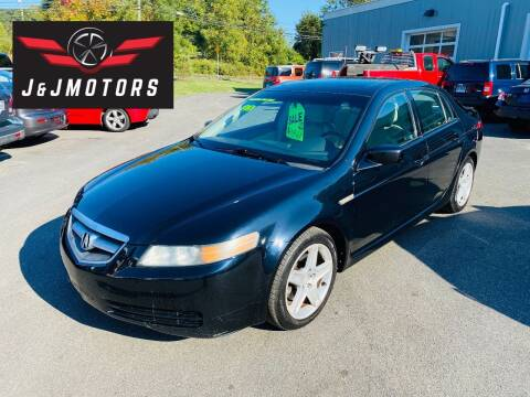 2005 Acura TL for sale at J & J MOTORS in New Milford CT