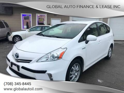 2014 Toyota Prius v for sale at Global Auto Finance & Lease INC in Maywood IL