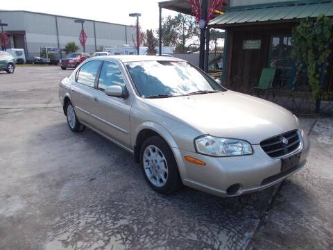2000 Nissan Maxima for sale at MOTION TREND AUTO SALES in Tomball TX