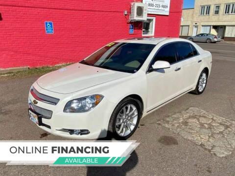 2012 Chevrolet Malibu for sale at WB Auto Sales LLC in Barnum MN