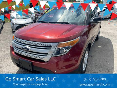 2014 Ford Explorer for sale at Go Smart Car Sales LLC in Winter Garden FL