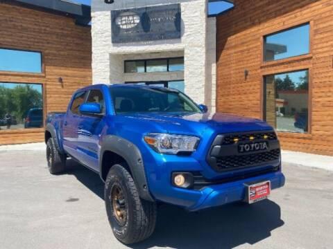 2016 Toyota Tacoma for sale at Hamilton Motors in Lehi UT
