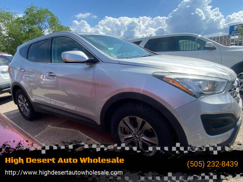 2015 Hyundai Santa Fe Sport for sale at High Desert Auto Wholesale in Albuquerque NM
