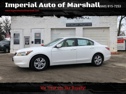 2009 Honda Accord for sale at Imperial Auto of Slater in Slater MO