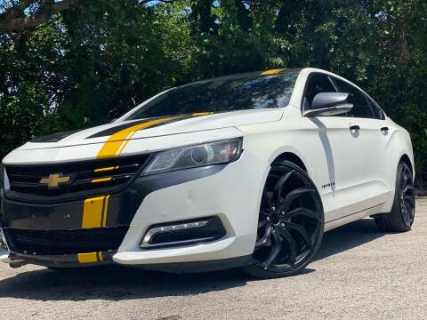 2015 Chevrolet Impala for sale at HIGH PERFORMANCE MOTORS in Hollywood FL