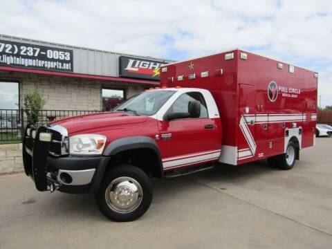 2009 Dodge Ram Chassis 4500 for sale at Lightning Motorsports in Grand Prairie TX