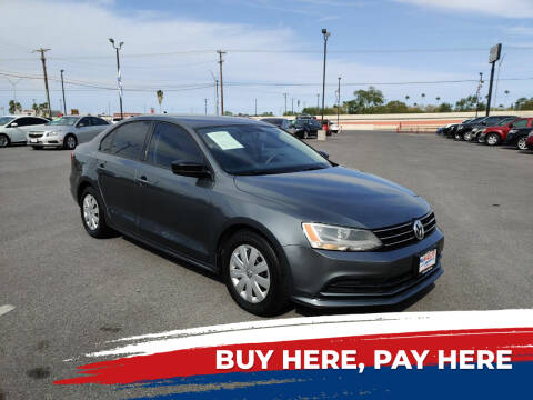 2015 Volkswagen Jetta for sale at Mid Valley Motors in La Feria TX