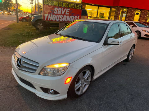 2010 Mercedes-Benz C-Class for sale at HW Auto Wholesale in Norfolk VA