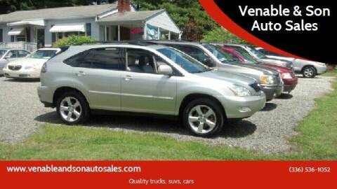 2005 Lexus RX 330 for sale at Venable & Son Auto Sales in Walnut Cove NC
