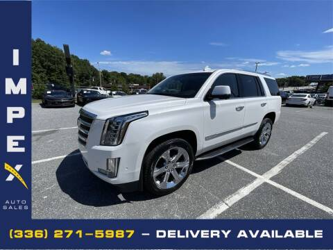 2018 Cadillac Escalade for sale at Impex Auto Sales in Greensboro NC
