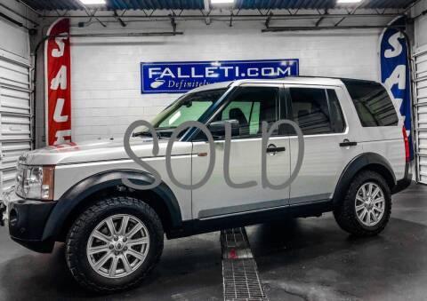2008 Land Rover LR3 for sale at Falleti Motors, Inc.  est. 1976 in Batavia NY