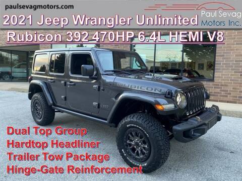 2021 Jeep Wrangler Unlimited for sale at Paul Sevag Motors Inc in West Chester PA