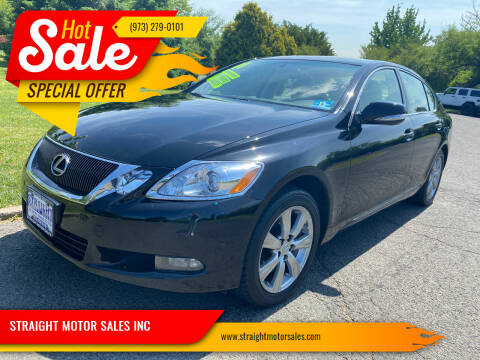 2011 Lexus GS 350 for sale at STRAIGHT MOTOR SALES INC in Paterson NJ