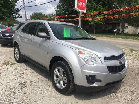 2014 Chevrolet Equinox for sale at Antique Motors in Plymouth IN