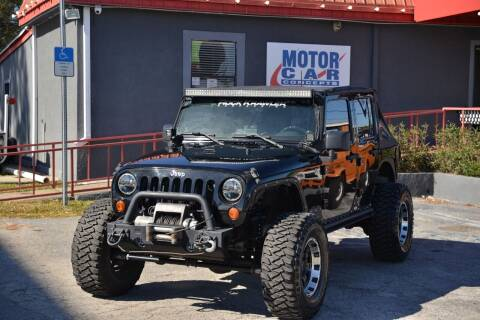 2008 Jeep Wrangler Unlimited for sale at Motor Car Concepts II - Kirkman Location in Orlando FL