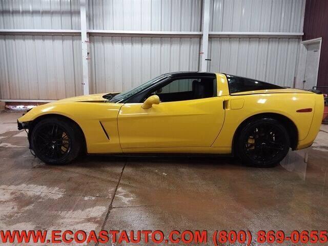 2008 Chevrolet Corvette for sale at East Coast Auto Source Inc. in Bedford VA