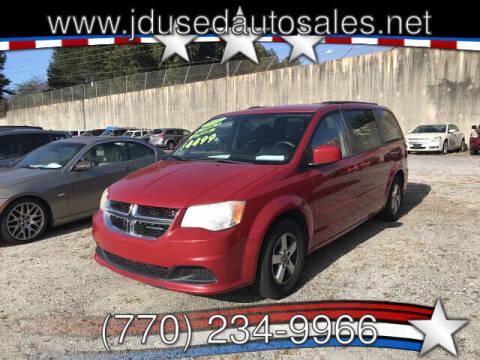 2012 Dodge Grand Caravan for sale at J D USED AUTO SALES INC in Doraville GA