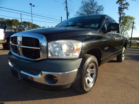 2008 Dodge Ram Pickup 1500 for sale at Medford Motors Inc. in Magnolia TX