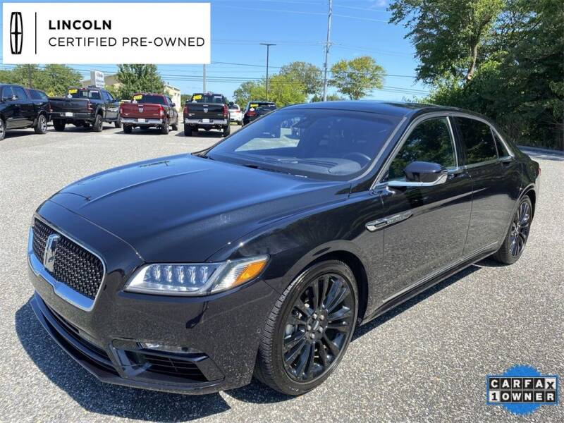 2020 Lincoln Continental for sale at Kindle Auto Plaza in Cape May Court House NJ