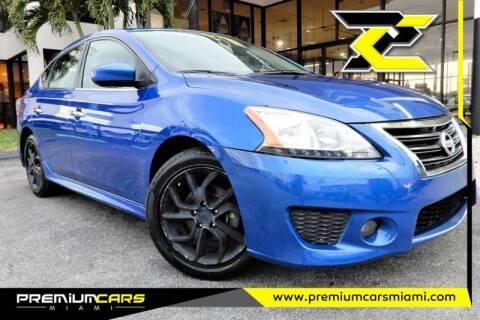 2014 Nissan Sentra for sale at Premium Cars of Miami in Miami FL