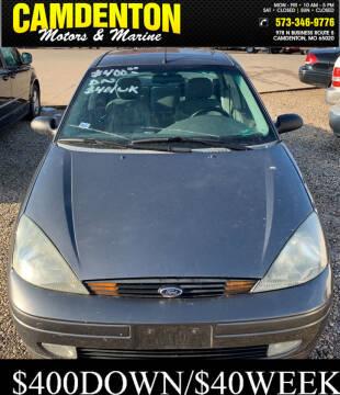 2003 Ford Focus for sale at Camdenton Motors & Marine in Camdenton MO