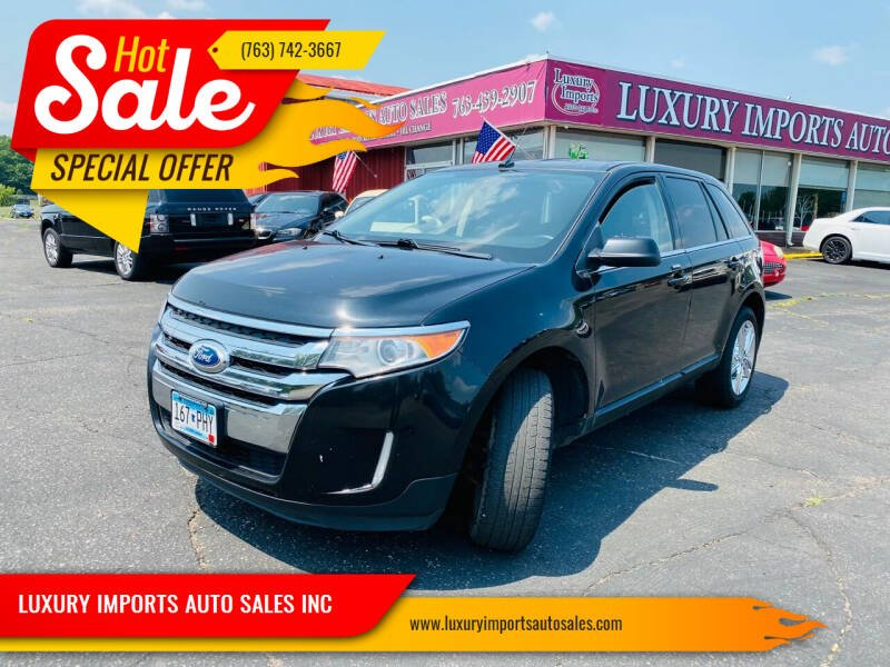 2013 Ford Edge for sale at LUXURY IMPORTS AUTO SALES INC in North Branch MN