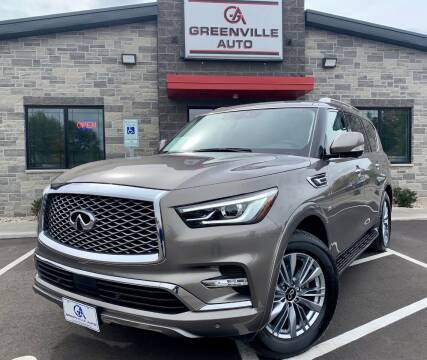 2019 Infiniti QX80 for sale at GREENVILLE AUTO in Greenville WI