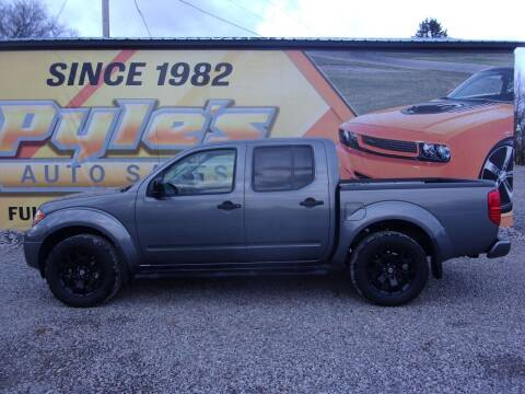 2019 Nissan Frontier for sale at Pyles Auto Sales in Kittanning PA