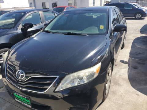 2011 Toyota Camry for sale at Express Auto Sales in Los Angeles CA