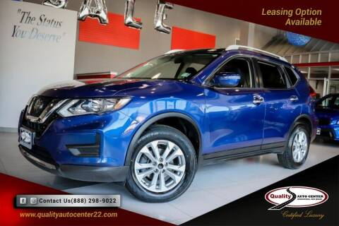 2018 Nissan Rogue for sale at Quality Auto Center in Springfield NJ