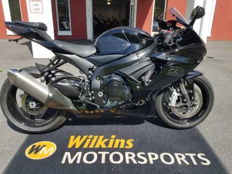2020 Suzuki GSX-R600 for sale at WILKINS MOTORSPORTS in Brewster NY