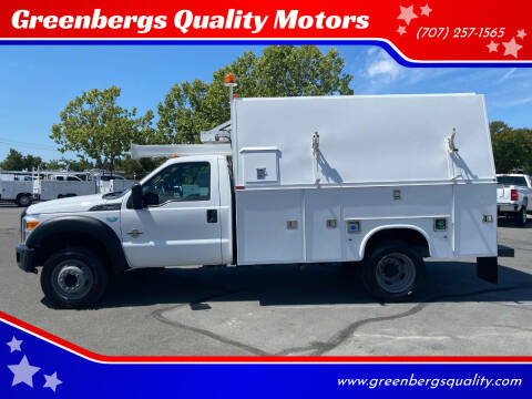 2012 Ford F-450 Super Duty for sale at Greenbergs Quality Motors in Napa CA