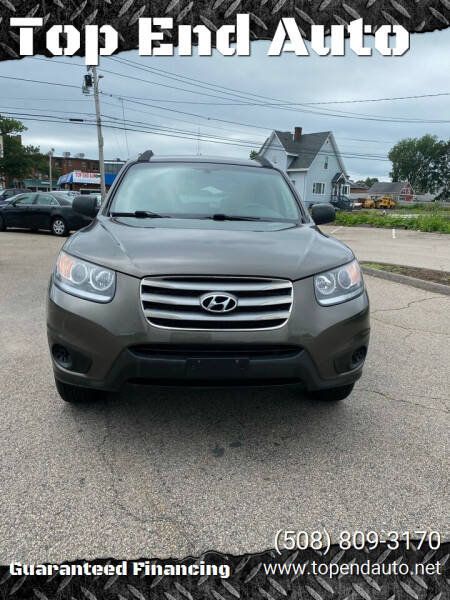 2012 Hyundai Santa Fe for sale at Top End Auto in North Attleboro MA