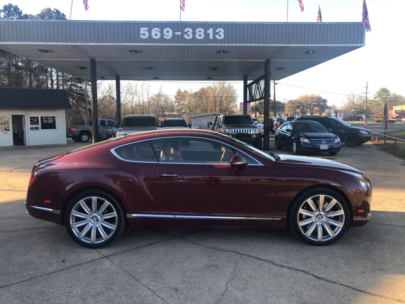 2013 Bentley Continental for sale at BOB SMITH AUTO SALES in Mineola TX