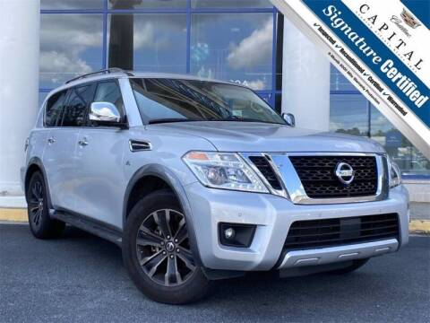2017 Nissan Armada for sale at Southern Auto Solutions - Georgia Car Finder - Southern Auto Solutions - Capital Cadillac in Marietta GA